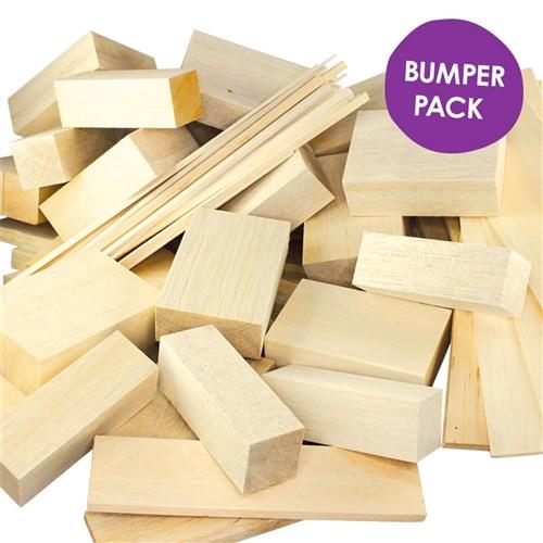 Giant Balsa Wood Bumper Pack