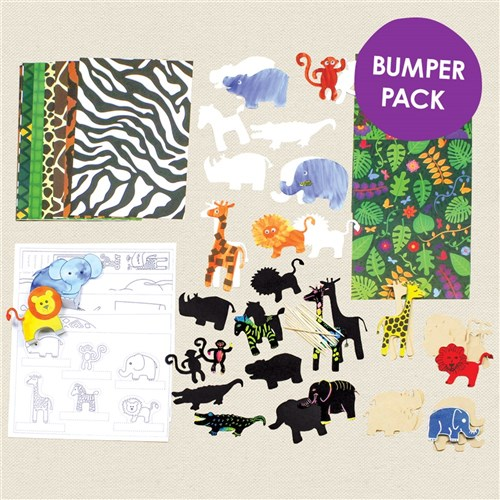 All About Wild Animals & the Jungle Project Bumper Pack