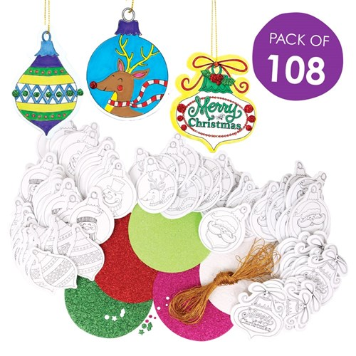 Bulk Christmas Ornaments.Foam Christmas Ornaments Bulk Pack