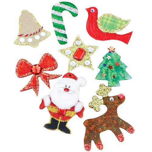 Christmas Shapes.Wooden Christmas Shapes