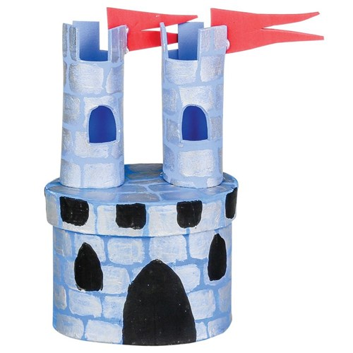 Greggs Miniature Imaginations: Castle 1 of 3 house i just finished ...   500x500