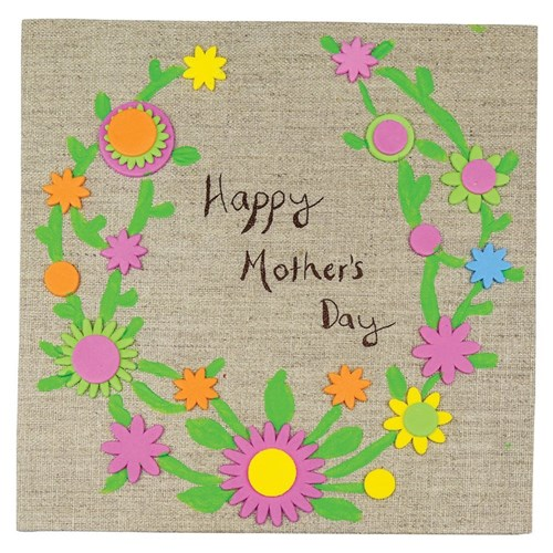 Happy Mother S Day Natural Canvas Mother S Day Cleverpatch Art Craft Supplies