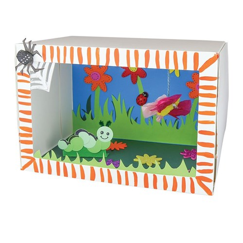 Insect Diorama Minibeasts Amp The Garden Cleverpatch